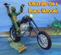 CREATURE ON A BLACK VAROOM!