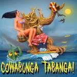 """COWABUNGA TABANGA (From Hell It Came) Resin kit"" by GeoffGreene"