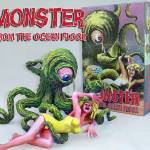"""MONSTER FROM THEOCEAN FLOOR Resin kit"" by GeoffGreene"