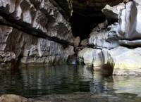 Chorreador Cave water flow