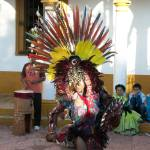 """Mayan Feathered Dancer in Chiapas"" by Mayan-Trip"