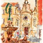 """Fortuna Fountain - Fano, Italy"" by shdesign"