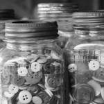 """""""Buttons in BW"""" by CandidlyAnn"""