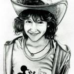 """Kelly at Disneyland 1980"" by MikeCressy"