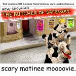 """Butcher Of Safeway (Scary Mooovies)"" by RickLondon"
