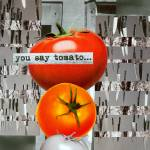 """Diptych 2A: You Say Tomato..."" by QueenofCleveland"