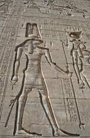 Hieroglyphs at Dendera Temple 14