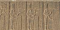 Hieroglyphs at Dendera Temple 6