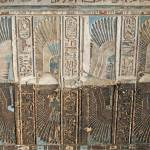 """Ceiling at Dendera Temple 7"" by rhallam"