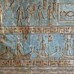 """Ceiling at Dendera Temple 6"" by rhallam"