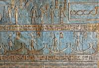 Ceiling at Dendera Temple 6