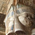 """Column at Dendera Temple 2"" by rhallam"