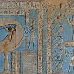 """Ceiling at Dendera Temple 3"" by rhallam"