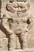 Bes statue at Dendera Temple