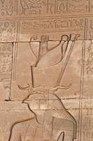 Hieroglyphs at Dendera Temple 2