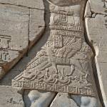 """Hieroglyphs at Dendera Temple 15"" by rhallam"