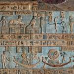 """Ceiling at Dendera Temple 9"" by rhallam"