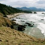 """""""View of Cannon Beach"""" by KimSuwak"""