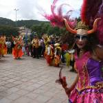 """Pre-Easter parade, Cusco"" by hoffkar"