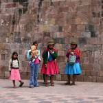 """Spectators at pre-Easter parade, Cusco"" by hoffkar"
