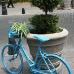 """Bicicleta azul"" by hoffkar"