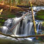 """Waterfall at The Sinks"" by Janice_Wagnon_Photography"