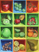 Boxed Still Life: Fruit Series #1