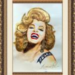 """ARMIE FLORES  MARILYN"" by armiefloresart"