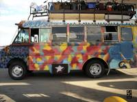 Weird Hippie Bus 1