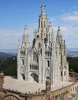Tibidabo from Above