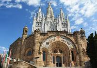 Tibidabo from Below