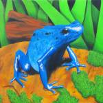 """""""Blue Dart Frog"""" by Billiam"""