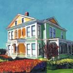 """Henry Guild Burton House by Riccoboni"" by BeaconArtWorksCorporation"
