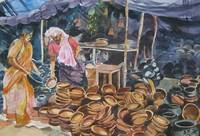 Clay Pot Seller