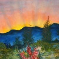 """Evening Glory"" by Dixie Higby"