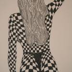 """checkerboard #4"" by jblackgraphics"