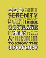 Serenity Prayer • Chartreuse