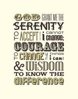 Serenity Prayer • Multi