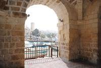Thru the Arch, St. Julians Bay, Malta