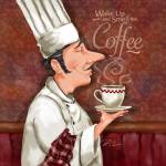 """Chef Smell the Coffee"" by shariwarren"