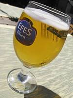 When in Istanbul.........Efes !