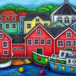 """""""Colours of Lunenburg"""" by LisaLorenz"""