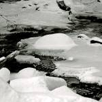 """Stream in Winter 1"" by georgerhunt"