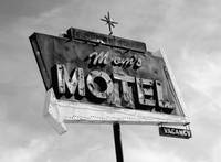 Neon Sign Mom's Motel
