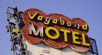 Neon Sign Vegabond Motel