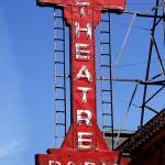 """Neon Sign Paris Theatre"" by cr8tivguy"