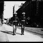 """BLACK MARINES IN HARLEM NEW YORK 1943"" by oklamarine"