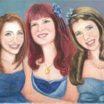 """Three Sisters We So Lovely"" by theartistfemme"