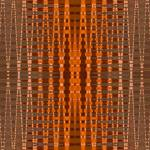 """orange bead pattern"" by DonnaGrayson"