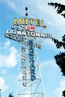 Neon Sign DownTowner Motel